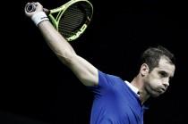 Gasquet e Cilic deixam confronto entre França e Cróacia em igualdade na Copa Davis
