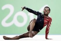 Simone Biles deslumbra en su estreno olímpico