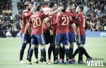 La efectividad sonríe a España
