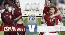 España Sub21 vs Noruega Sub21 en vivo y en directo online (2-0)