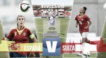 Resultado España vs Suiza en la Final del Europeo Femenino Sub-17 (5-2)