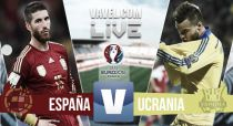 España vs Ucrania en vivo online (1-0)