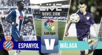 El Málaga CF pesca entre el espectáculo