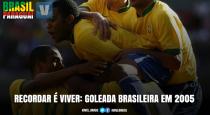 Recordar é viver: em 2005, Brasil goleia Paraguai em Porto Alegre