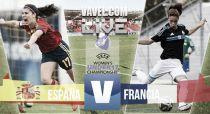 España vs Francia en vivo y en directo online en el Europeo Femenino Sub-17