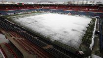 Se suspende el Osasuna – Zaragoza por la nieve