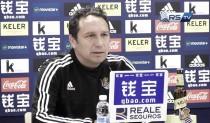 """Eusebio: """"Cada partido es una oportunidad para seguir haciéndonos más fuertes"""""""