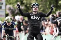 Giro di Romandia, Viviani vince in volata la quarta tappa