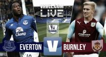 Everton vs Burnley en vivo y en directo online