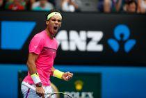 Australian Open, il ruggito di Nadal