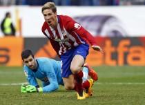 Fernando Torres suelta el menhir