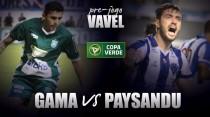 Em vantagem, Paysandu visita Gama visando retorno a torneio internacional após 13 anos