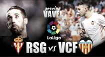 Sporting de Gijón - Valencia CF: volver a empezar