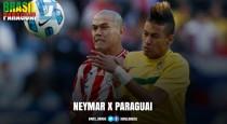 A vítima que falta: Neymar tem chance de ouro para desencantar contra Paraguai