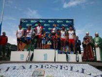 Bouzán y Fiuza brillan en el Sella tras conseguir su sexto título consecutivo