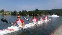 El equipo español Junior de aguas tranquilas debuta en el Europeo