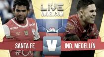 Resumen Santa fe vs Medellín en Liga Águila 2017-1