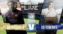 Barcelona B - Tenerife en directo online (2-2)