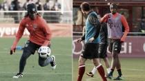 Boateng y Renato Sanches, listos para el partido contra el Dortmund