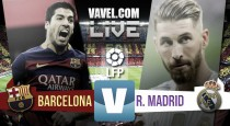 Barcelona 1-2 Real Madrid: As it happened