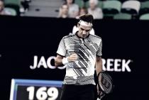 Australian Open 2017 - Federer di personalità, Nishikori cede al quinto