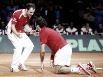 VIDEO Coppa Davis, il ricamo di Federer e la firma sulla storia