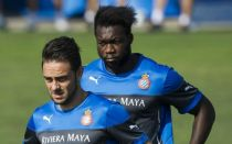 Arbilla, Caicedo y Sergio García se entrenan al margen