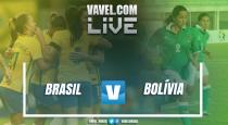Resultado Brasil x Bolívia em amistoso feminino (6-0)