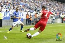 """Fernández: """"Las grandes aficiones exigen a sus jugadores y la del Oviedo es de las mejores"""""""