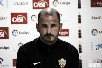 """Fernando Soriano: """"Es vital conseguir la victoria ante el Girona"""""""