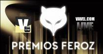 II Edición de los Premios Feroz en vivo y en directo online