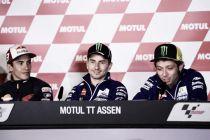 MotoGP, GP Assen: le parole di Rossi, Márquez e Lorenzo a fine gara