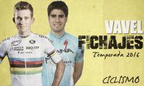Ciclismo: mercado de fichajes 2015