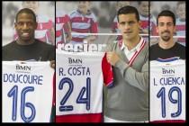 Ricardo Costa, Doucouré e Isaac Cuenca, presentados en el Granada