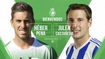Héber Pena y Julen Castañeda, los primeros refuerzos para Viadero