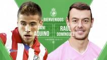 Raúl Domínguez y Dani Aquino, seguridad y gol para el Racing