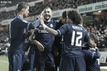 Granada - Real Madrid: puntuaciones Real Madrid, jornada 23 de la Liga BBVA