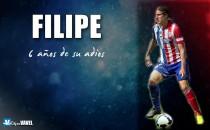 Seis años del adiós de Filipe Luis