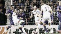 Fiorentina bella di notte, il Tottenham si inchina