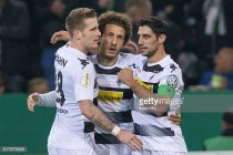 Borussia Mönchengladbach 2-0 VfB Stuttgart: Johnson and Stindl seal last 16 berth