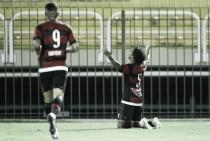 Na estreia de Mancuello, Willian Arão faz dois e Flamengo atropela Portuguesa-RJ