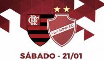 Resultado Vila Nova x Flamengo (2x1)