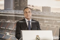 """Florentino Pérez: """"Vamos a tener a uno de los mejores delanteros del mundo"""""""
