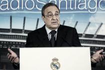 """Florentino Pérez: """"¿Benzema? El mejor nueve del mundo"""