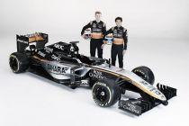 F.1, svelata la nuova livrea della Force India