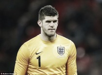 Fraser Forster sidelined for Slovakia game