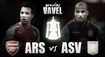 Arsenal - Aston Villa: luci al Wembley Stadium