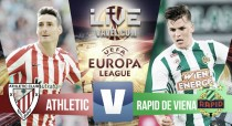 Resultado Athletic Club de Bilbao vs Rapid Viena en vivo y directo en Europa League