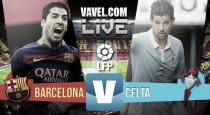 Resultado: FC Barcelona vs RC Celta de Vigo (6-1). Una segunda parte demoledora