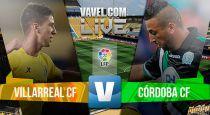 Resultado Villarreal vs Córdoba en la Liga BBVA 2015 (0-0)